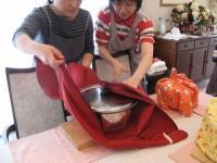 大きな鍋も保温