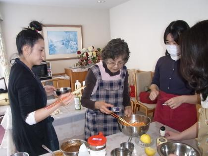 4月28日お料理教室の様子