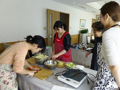 2月お料理教室