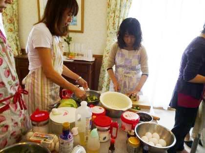 お料理教室の様子