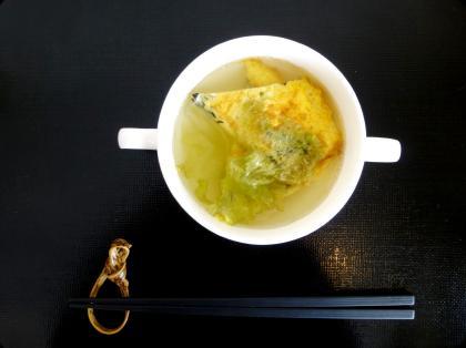 玉子のスープ