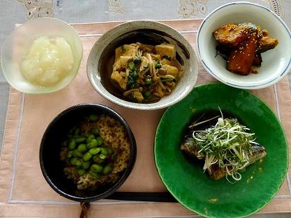 9月17日薬膳教室レシピ