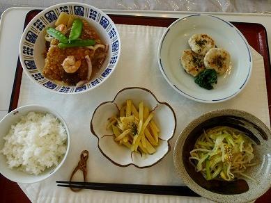 9月21日お料理教室メニュー